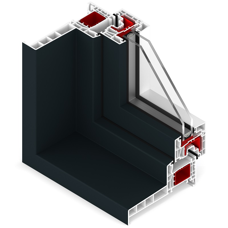 Edge fenêtre moderne monoblok