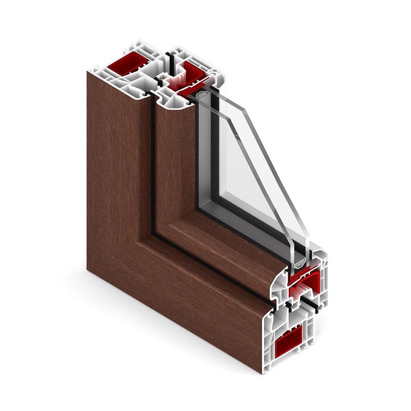La fenêtre ETRUM ROUND PLUS